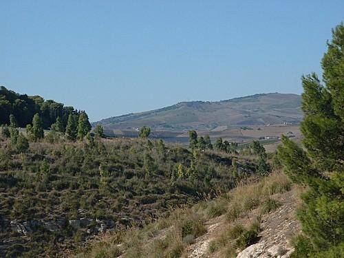 Segeste - Les alentours du temple 1