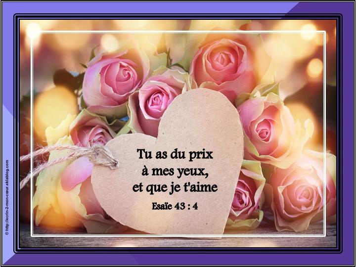 Ronde Versets du coeur 244