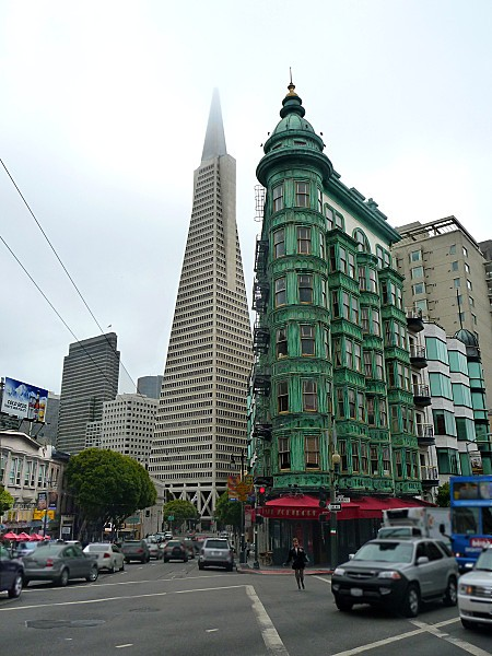 San Francisco Colombus Tower