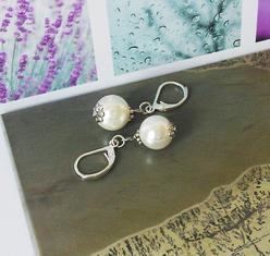 - Verre nacré Renaissance, Perles de Coquillage, Perles de culture