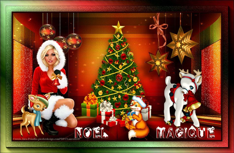 Noël magique de saturnella