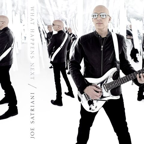 JOE SATRIANI - Un nouvel extrait de l'album What Happens Next dévoilé