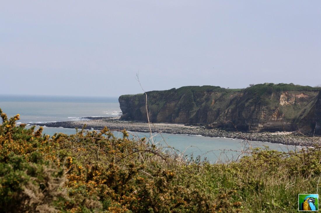 Normandie mai 2017 : Pointe du Hoc : Les falaises 3/3