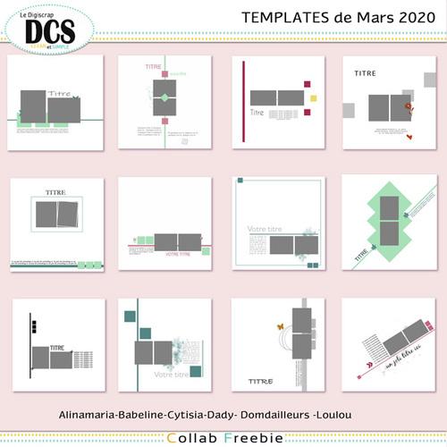 Templates DCS Mars 2020