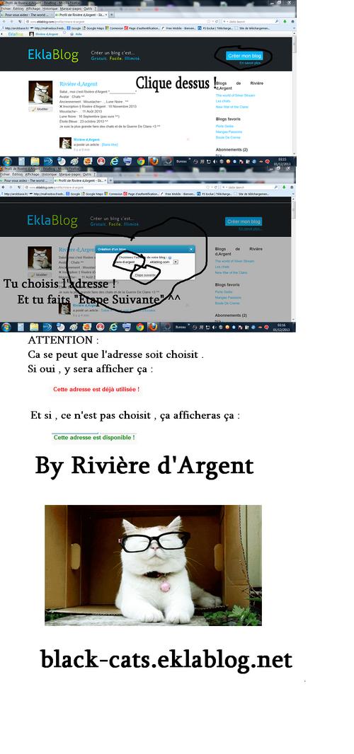 Créer son Blog . ^^