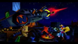 La 2éme fin de Crash Bandicoot 2