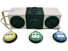 Lecteurs MP3 adaptés accessibles par contacteurs - RNT : Réseau Nouvelles  Technologies (APF)