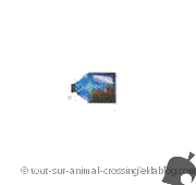 bateau bouteille - animal crossing DS