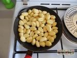 Poulet sauce curry et ses gnocchis croustillants