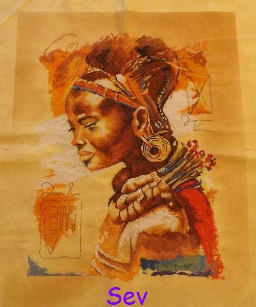 Une belle Africaine
