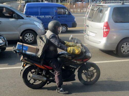 La moto en Corée