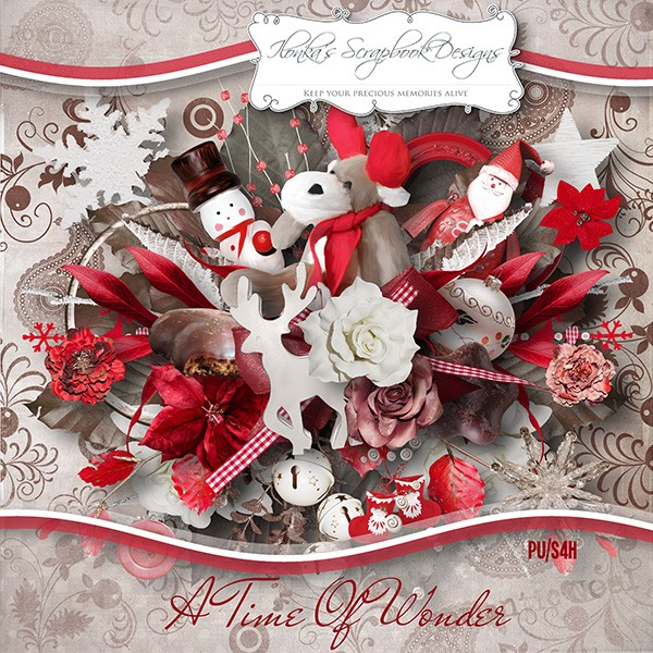 """A Time Of Wonder""by Ilonka's Scrapbook Designs"