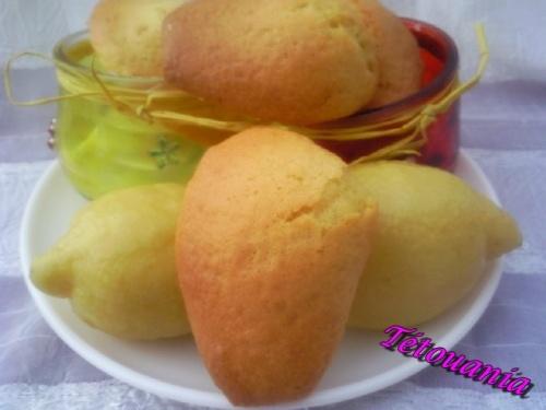 madeleines citron