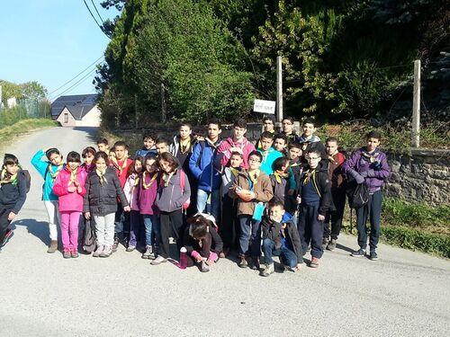 Camp d'avril 2014 à Nismes