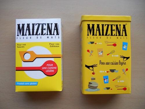 """Boite métal collector """" Maizena"""""""