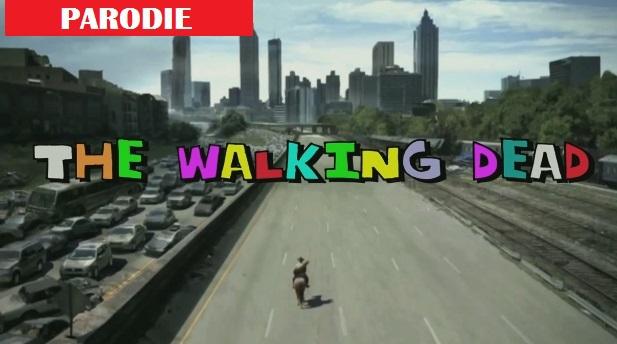 """La série """"The Walking Deade"""" parodiée en une série des années 1980"""