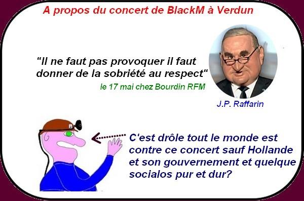 Pour la gauche et Hollande il n'y a pas de problème Black M ?
