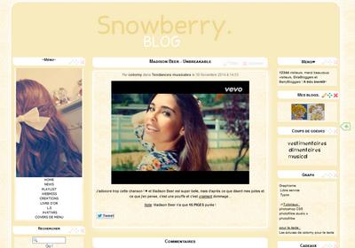 Thème #16: Snowberry été
