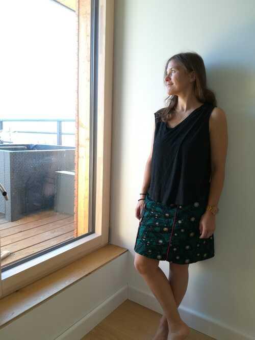 Une jupe pour ma sœur