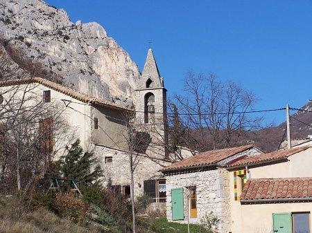 Village d'Entrepierres (Alpes-de-Haute-Provence)