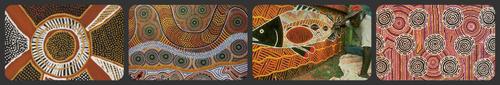 A la manière des aborigènes d'Australie