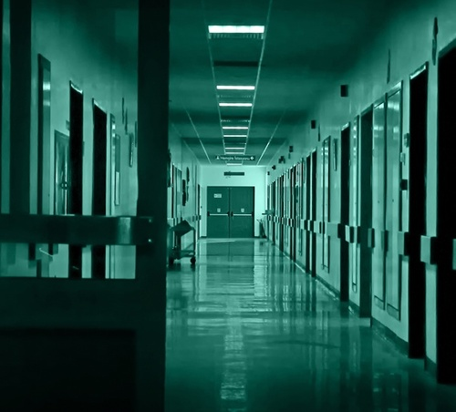 Couloir d'hôpital-Image du net