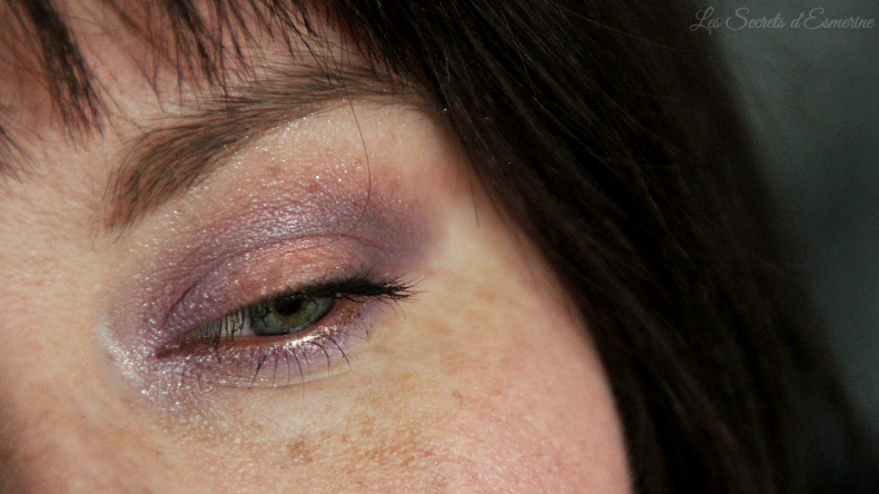 maquillage - lilas - melon - tutoriel