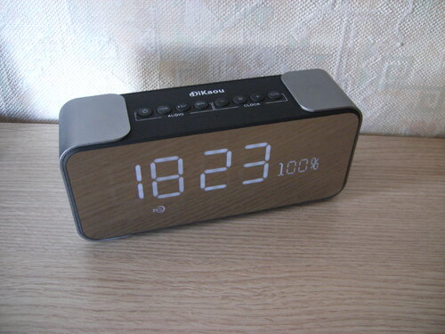 Réveil Radio DIKAOU Bluetooth/AM/FM