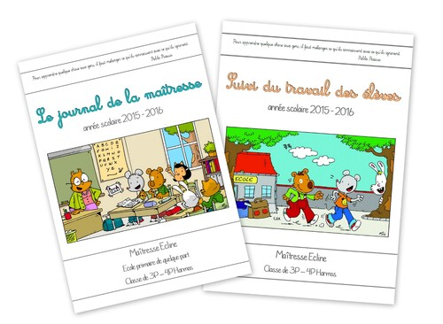 Le journal de la maîtresse version 2015 - 2016
