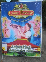 Le cirque à Kerincuff