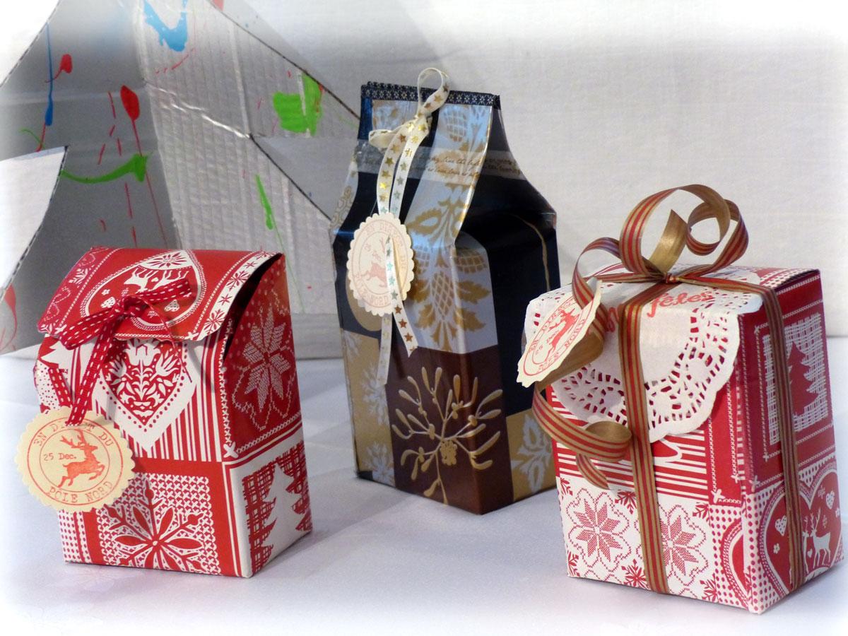 Bien-aimé Boîtes cadeau - recyclage- - LilouLoli et Cie PT42