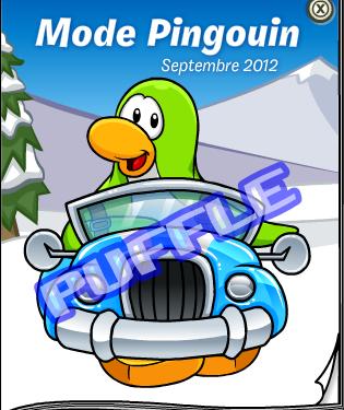 Mode Penguin Septembre 2012