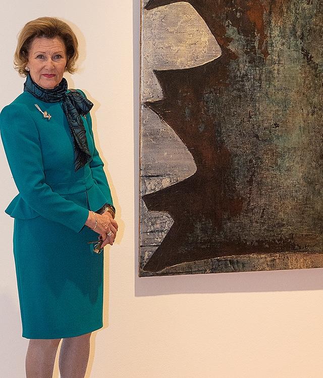 Sonja au musée