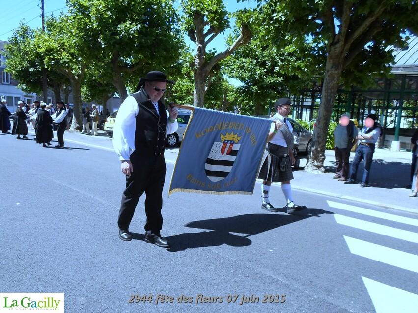 FÊTE DES FLEURS 2015  1/6   LA  GACILLY  MORBIHAN    20/07/2015