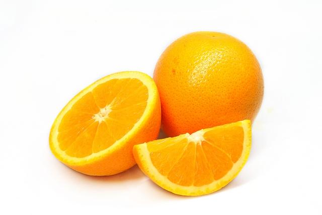 Sorbet aux zestes d'orange et de citron