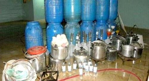 Al Âttaouia : Saisie de l'eau-de-vie, de kif et de tabac