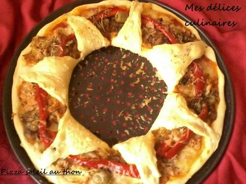 Pizza soleil au thon