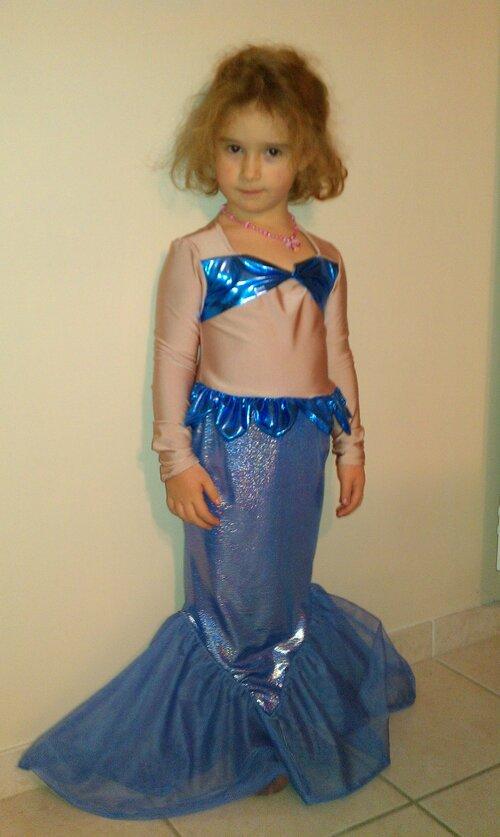 Ariel la petite siréne bleue
