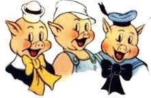 Les trois petits cochons fofy l 39 cole bloglovin - Dessin des 3 petit cochon ...