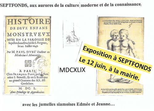 Expo le 12 juin à Septfonds