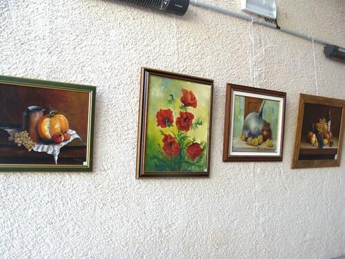 Les peintres à Moitron..