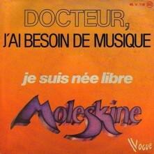 COEUR MAGIQUE -MOLESKINE 45T 1978