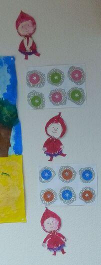Notre école aux couleurs du Petit Chaperon Rouge