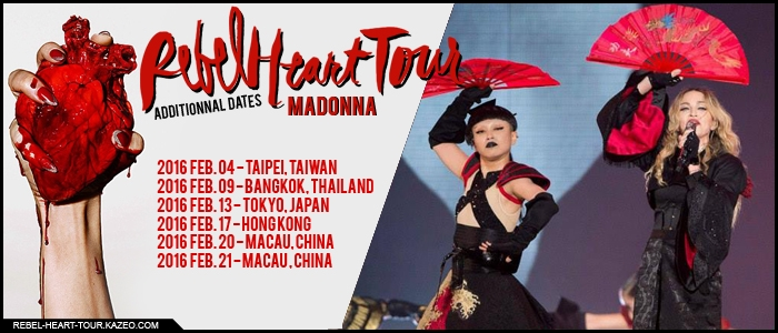 RHT Asia Additionnal Dates