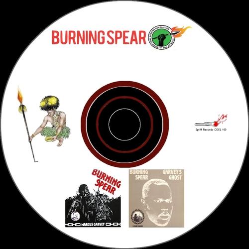 """Burning Spear : CD """" Marcus Garvey / Garvey's Ghost """" Spliff Records CDEL 100 [ FR ]"""