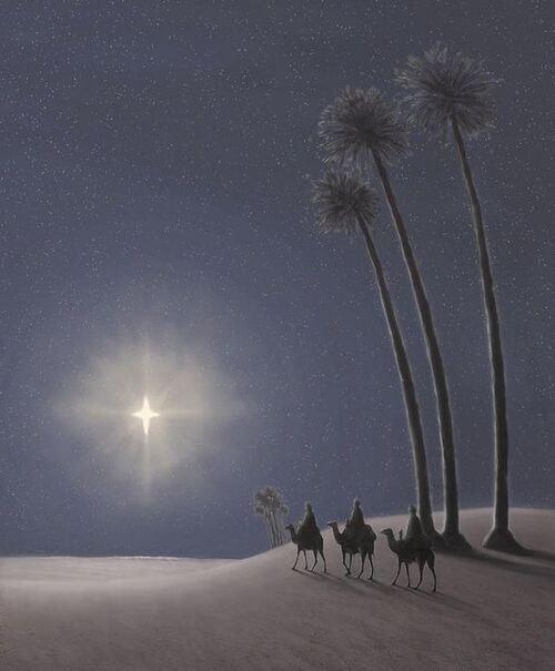 L'étoile scintille dans le ciel