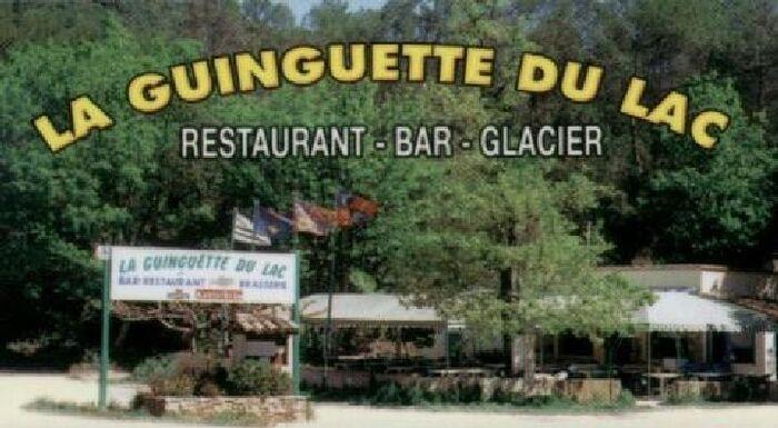 Veille de mon départ petit repas à la guinguette du lac de Carcès