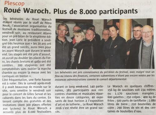 Roué Waroch 2016...