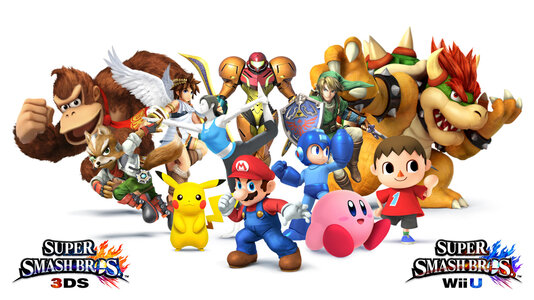 Super smash bros wii U pour le 28 novembre en Europe !