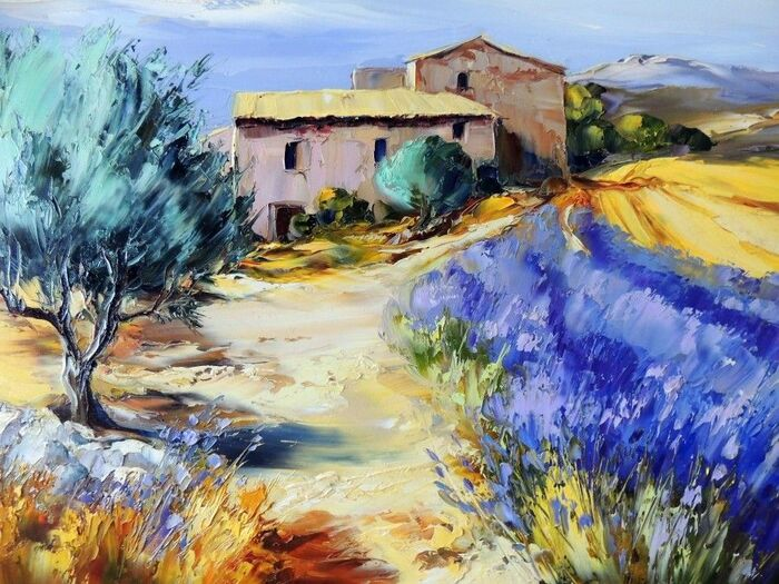 Oeuvres &  Peintures...  De Joséphine Chervinska & Cristina Faleroni...